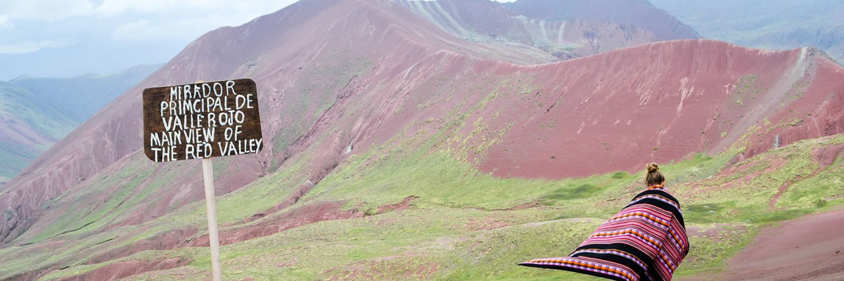 Rainbow Mountain and Red Valley  en Cusco