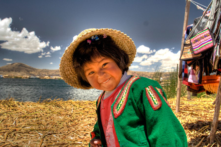 Tour to the floating islands of the Uros