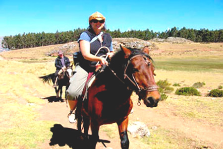 Horseback Riding in Cusco: Kusilluchayoc, Temple of the Moon & Zone X