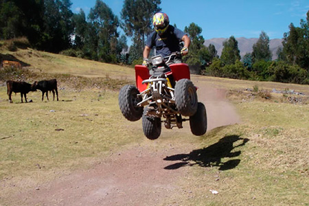 ATV TOUR CUSCO: Adventure around the Sacred Valley (MORAY, MARAS AND SALT MINES)