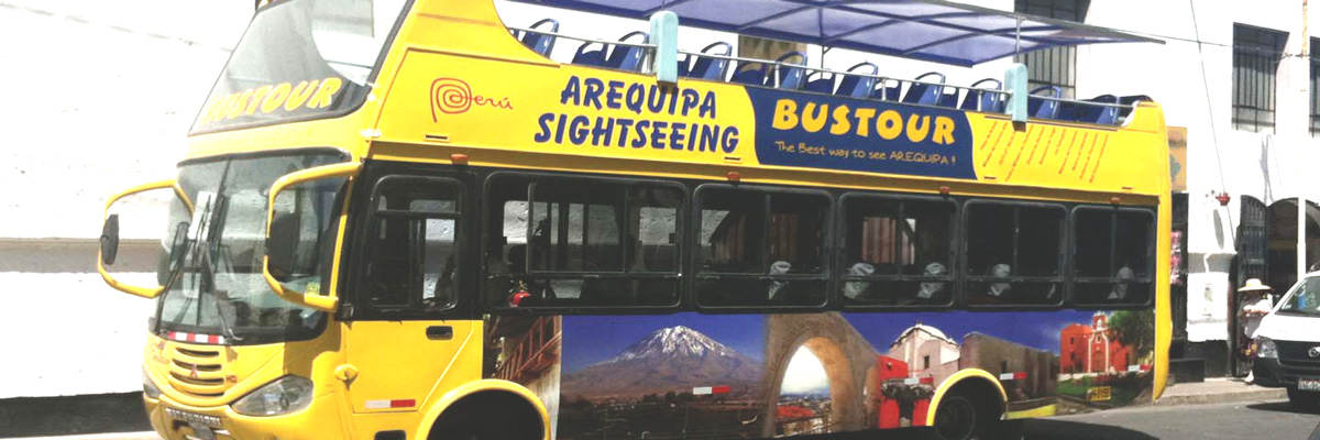 Bus Panoramic City Tour en Arequipa