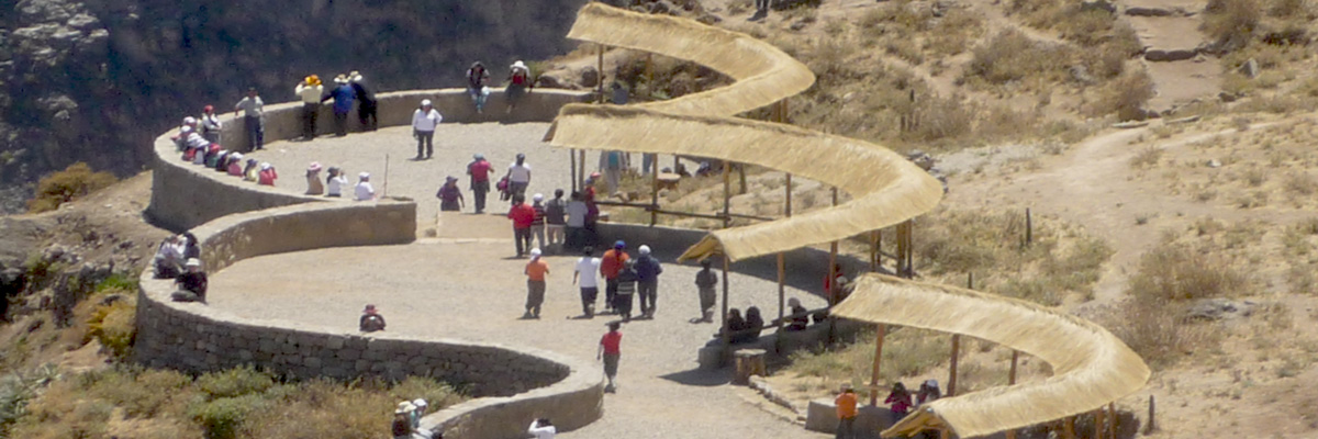 Traditional Colca Canyon in Arequipa